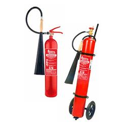 Karbondioksitli (CO2) Yangın Söndürme Cihazları