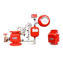 Islak Alarm Vana Sistemi (Wet Alarm System)
